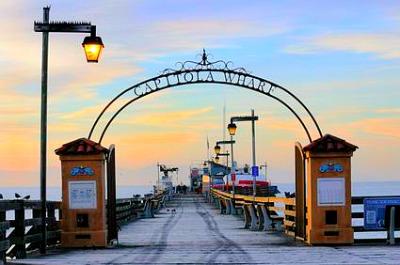 Capitola California Wharf