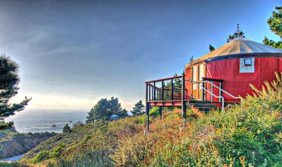 Yurt On Big Sur Hillside